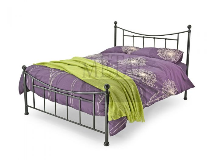 Bristol Black Double Bed