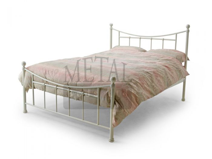 Bristol Ivory Double Bed
