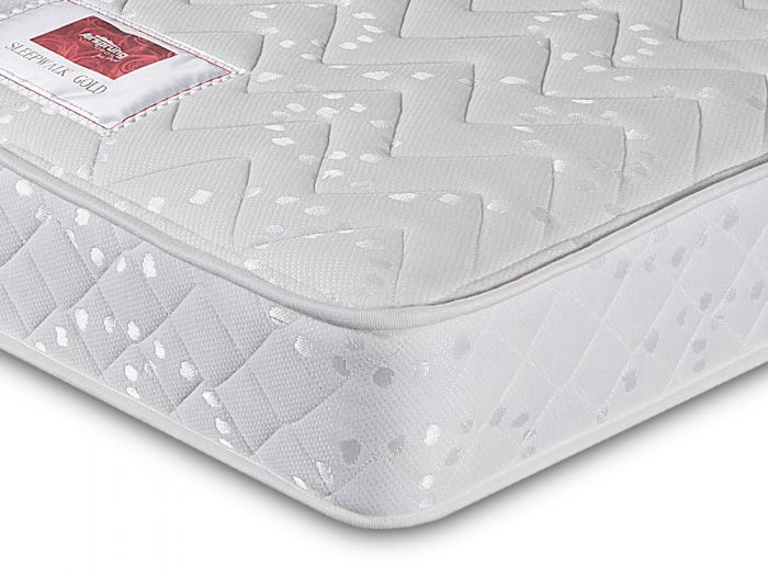 Sleepwalk Sprung Gold King Size Mattress