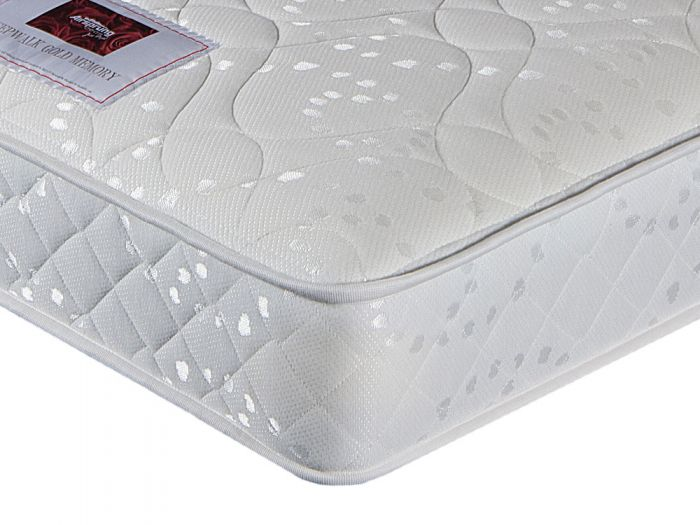 Sleepwalk Memory Gold Single Mattress