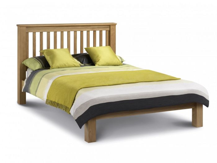 Amsterdam King Size Bed - Low Foot End