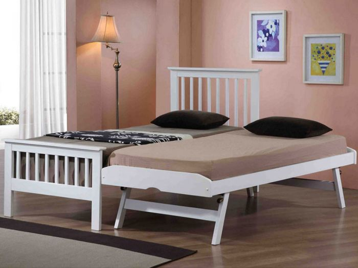 Pentre White Guest Bed