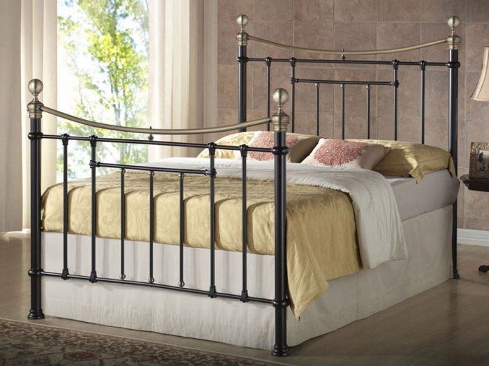 Bronte Black Double Bed