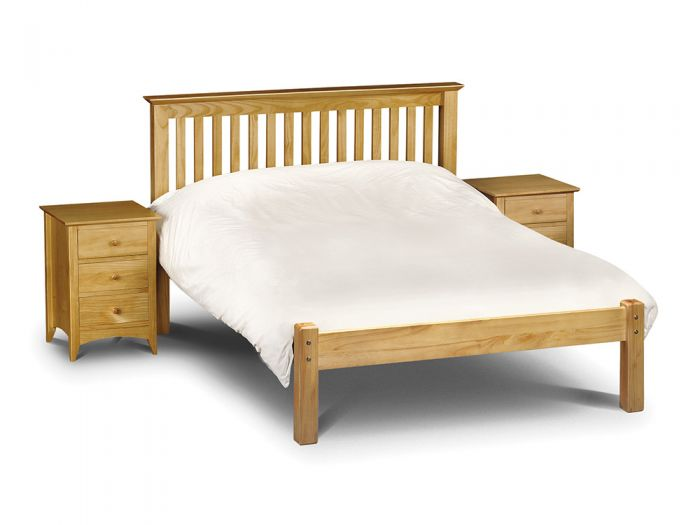 Barcelona King Size Bed - Low Foot End