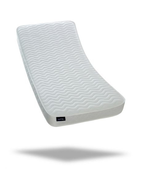 "Jumpi 7"" memory foam spring single mattress"