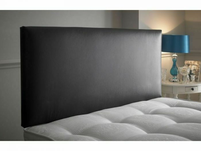 Plain Faux Leather Headboard