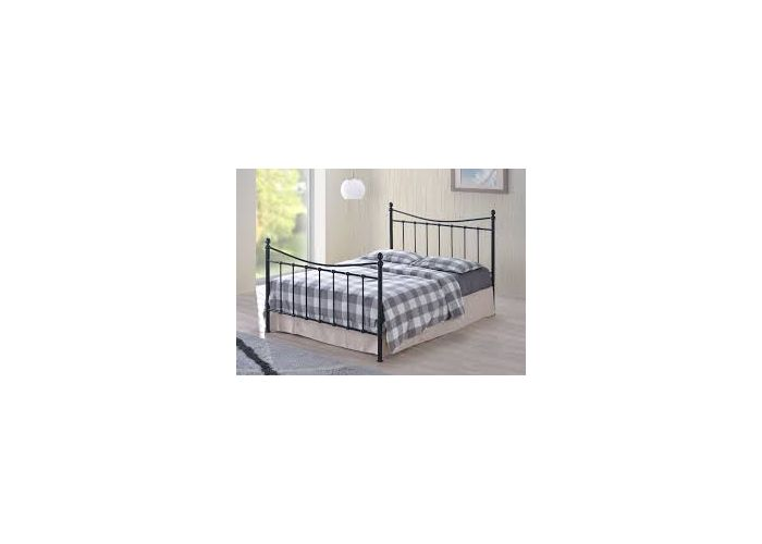 Alderley Black Small Double Bed