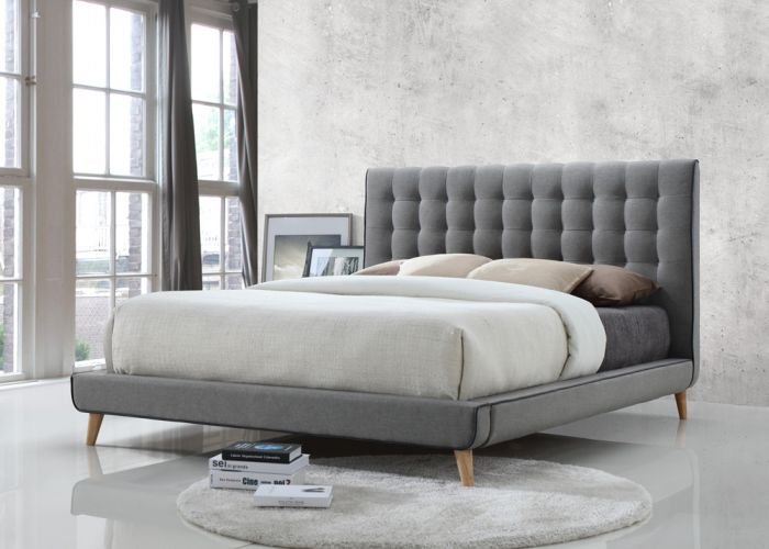 Calico double bed