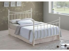 Alderley Ivory King Size Bed