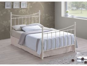 Alderley Ivory Double Bed