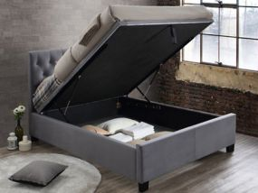 Cologne Ottoman Double Bed