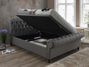 Castello Side Ottoman Super King Size Bed