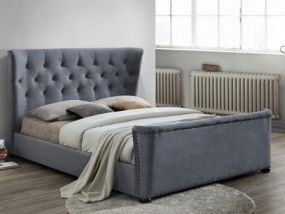 Barkley Fabric Super King Size Bed