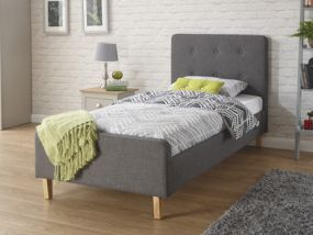 Ashbourne Fabric Single Bed