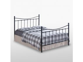 Alderley Black King Size Bed