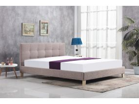 Bergen mink kingsize bed