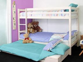 Thuka Hit 20 White Bunk Bed