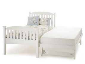 Eleanor Guest Bed in Opal White