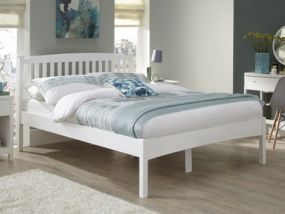 Eleanor Opal White Double Bed