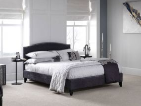 Serene Charlotte Charcoal Double Bed