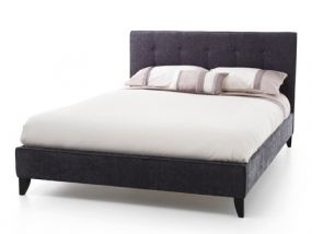 Serene Chelsea Charcoal Small Double Bed