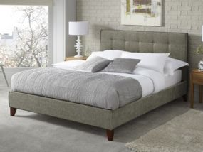 Serene Chelsea Fudge Small Double Bed