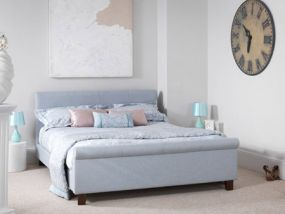 Hazel Ice Small Double Bed