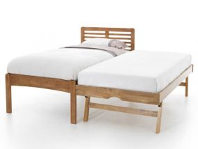Esther Honey Oak Guest Bed