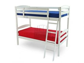 Moderna White Bunk Bed