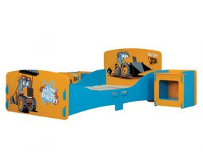 Kidsaw JCB Room in a Box Junior Bed