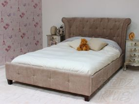 Epsilon Fabric Double Bed