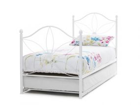 Serene Daisy White Guest Bed