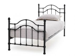 Serene Paris Black Single Bed