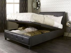 Catania Ottoman Small Double Bed