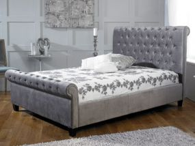 Orbit Silver Super King Size Bed