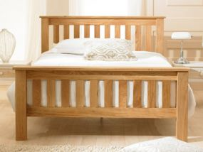 Richmond Chunky Oak King Size Bed