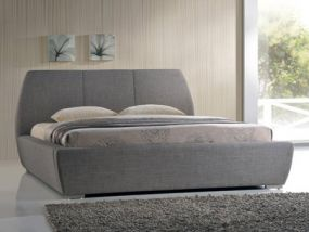 Naxos Grey King Size Bed
