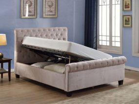 Lola Ottoman King Size Bed