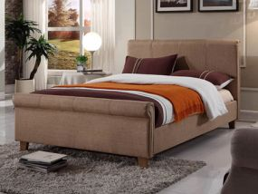 Caramel King Size Bed
