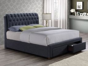 Valentino 2 Drawer King Size Bed