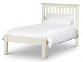 Barcelona White Single Bed