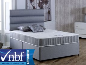 Gel Relax Open Coil Single Divan