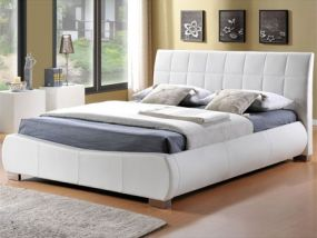 Dorado White Double Bed