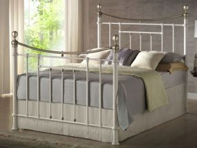 Bronte Cream King Size Bed