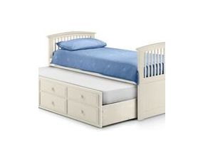 White Hornblower Single Bed
