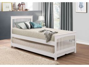 Toronto White Guest Bed
