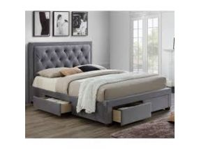 Woodbury King Size Storage Bed