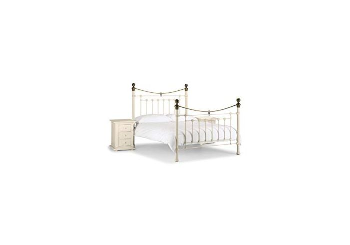 Victoria White King Size Bed