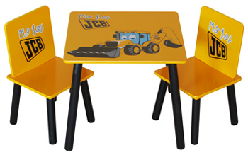 JCB Table and 2 Chairs