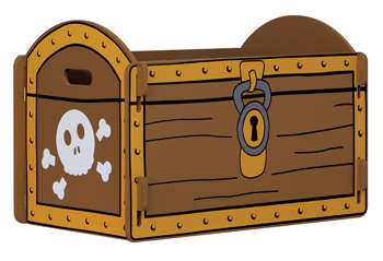 Pirate Treasure Chest